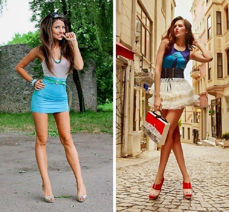 как правильно одеваться худым девушкам летом