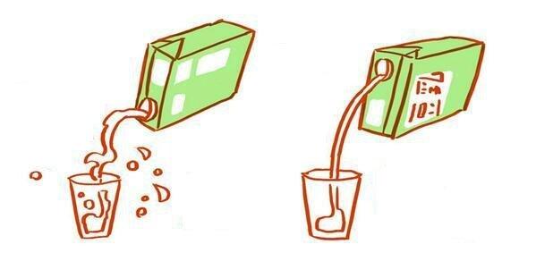 ako otvoriť džús