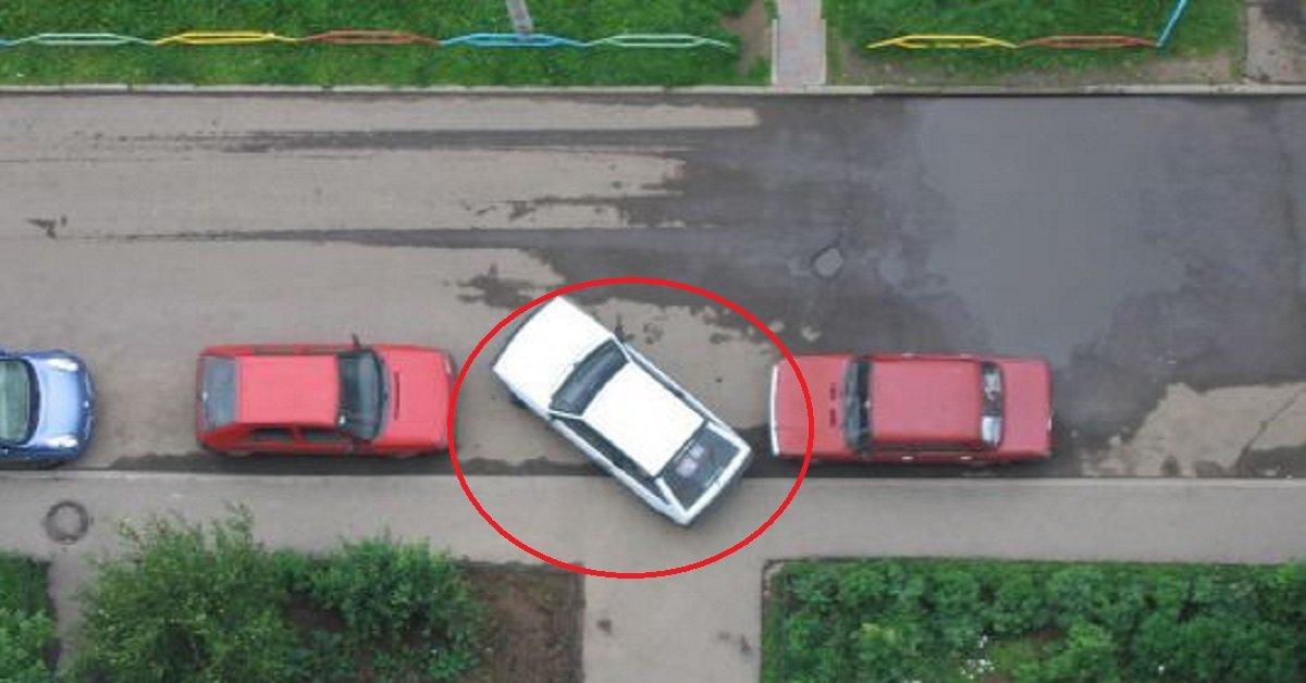 Паркуйся правильно! Как не въехать в чужую машину и избежать штрафов за парковку.