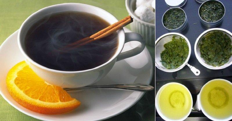 с чем пить чай при похудении видео