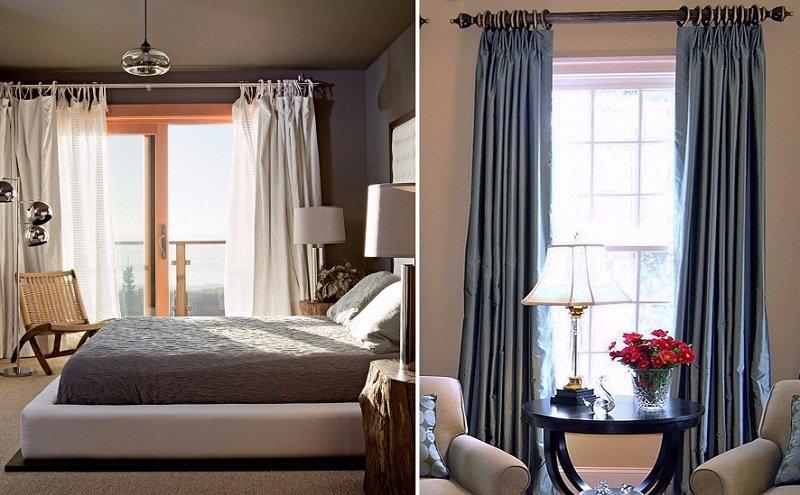 как выбрать готовые шторы