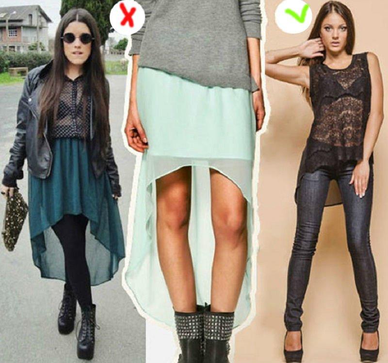 как правильно сочетать вещи в одежде