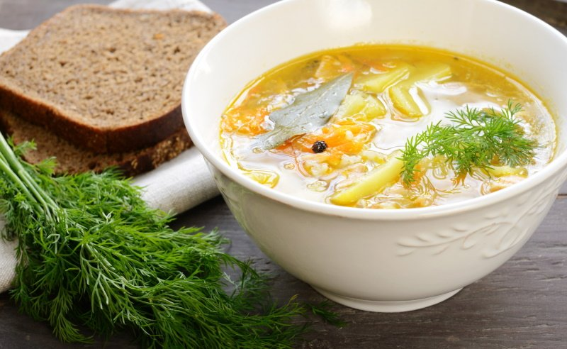 как правильно варить суп без зажарки