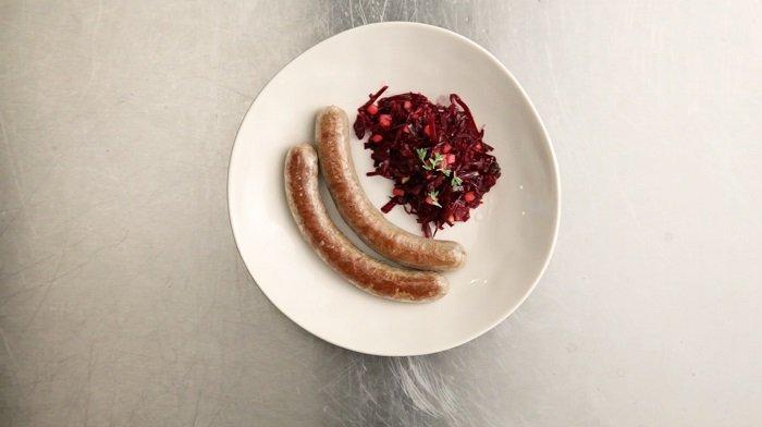 колбаса из чечевицы