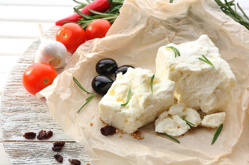 греческий салат с оливками