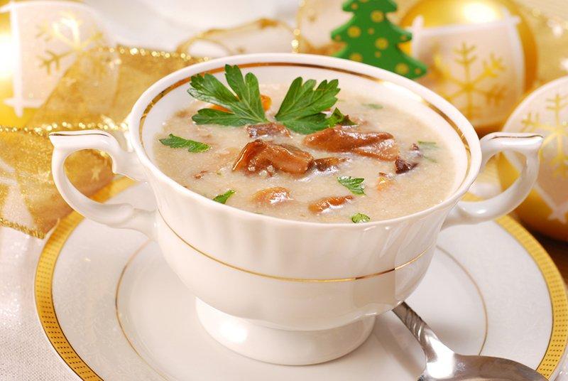 как приготовить грибной суп фото