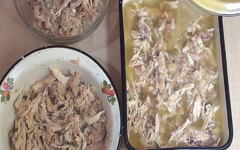 Наблюдения начинающей хозяйки во время варки холодца Кулинария,Бульон,Заливное,Курица,Мясо
