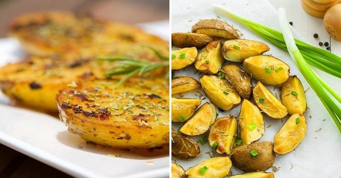 ziemniaki w piekarniku