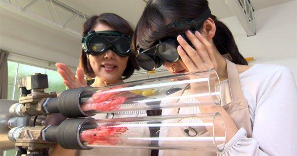 Как приготовить креветки за 3 секунды. Нереально крутой рецепт из Японии!