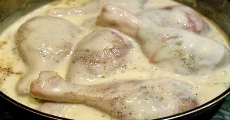 куриные голени в духовке с аджикой