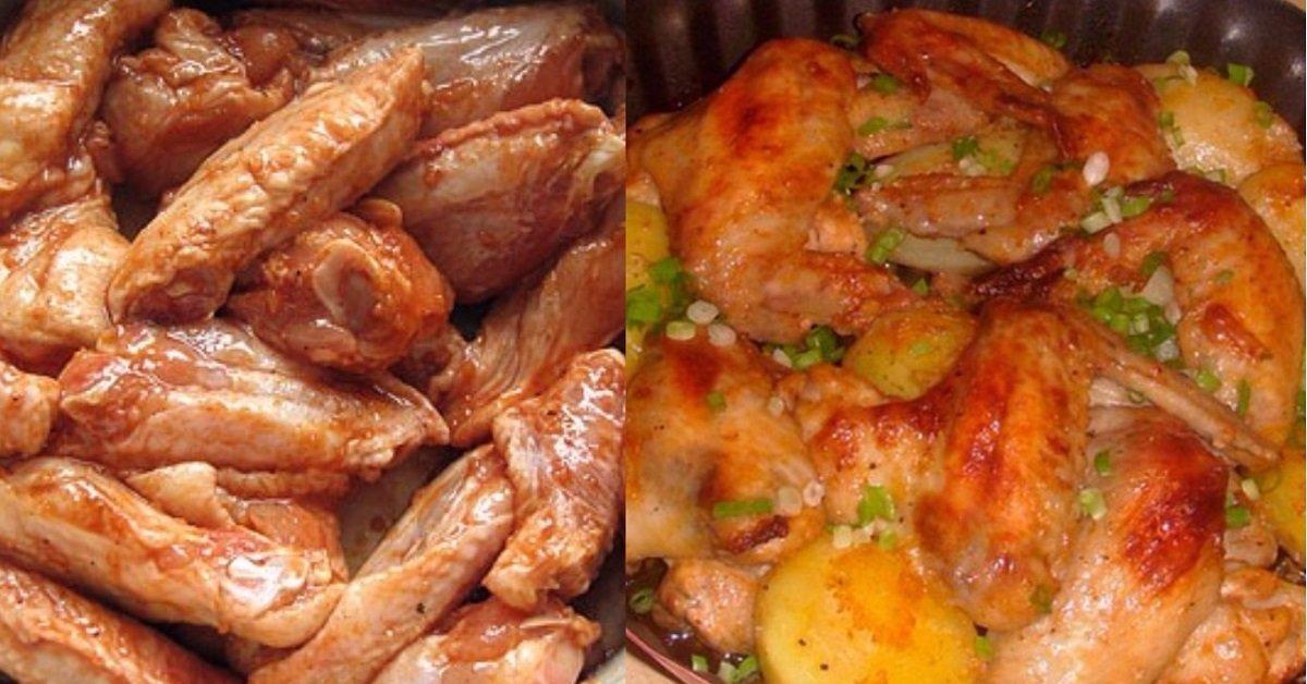Как приготовить Куриные крылышки с медом