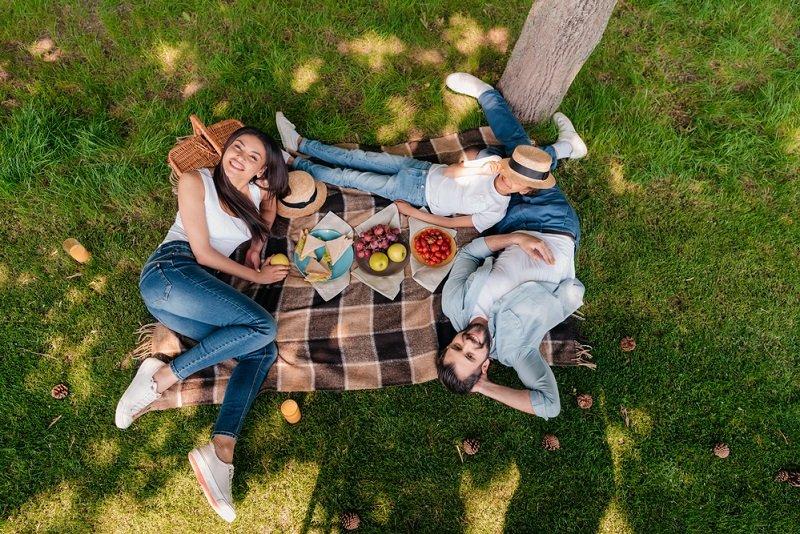 как устроить пикник с друзьями