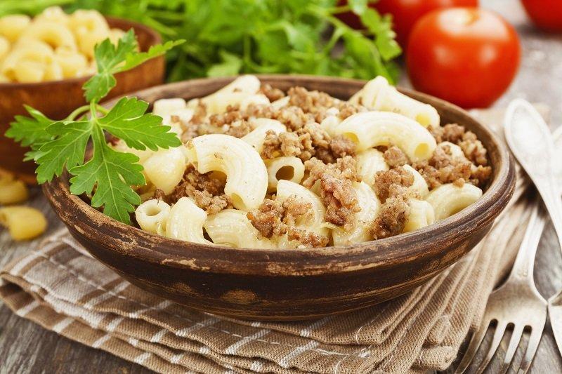 Как приготовить макароны по-флотски Кулинария,Еда,Макароны,Мясо,Фарш