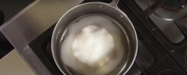сахар в воде