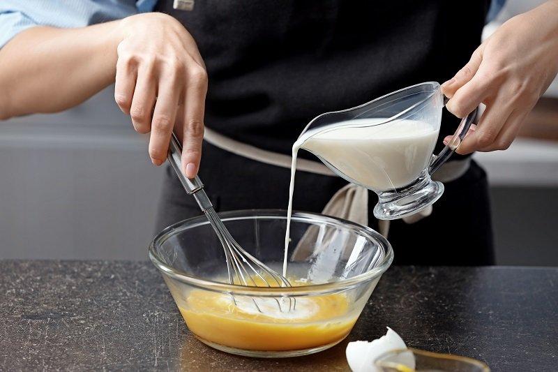 как приготовить омлет блинчиком