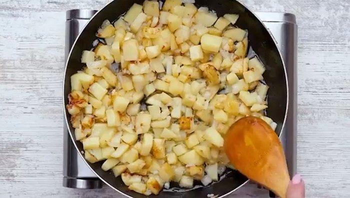 омлет в духовке со сметаной