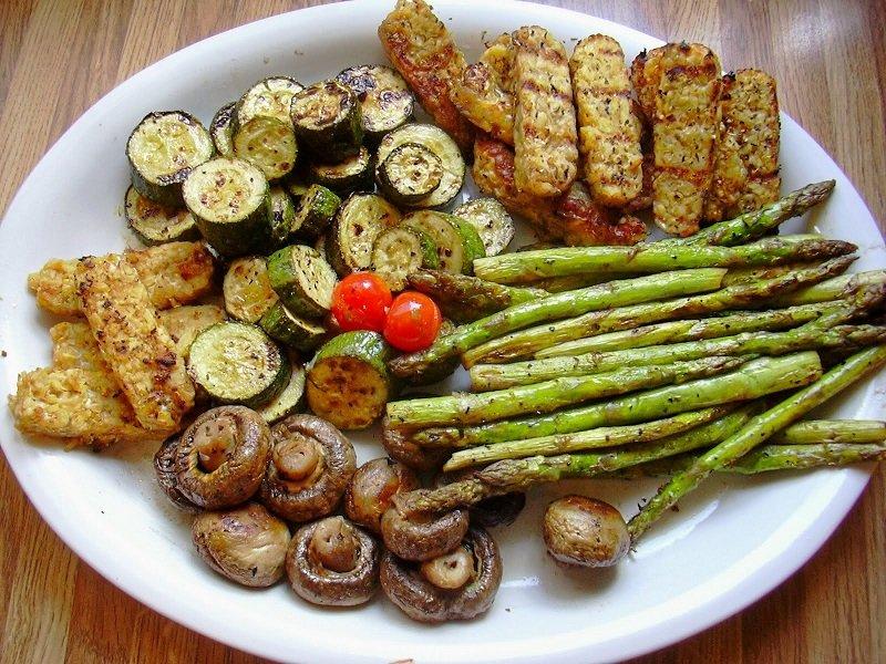 овощи гриль маринад