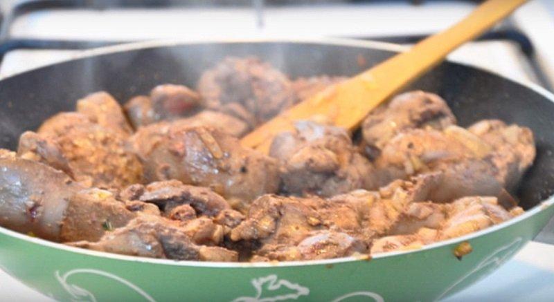 паштет из куриной печени с желе