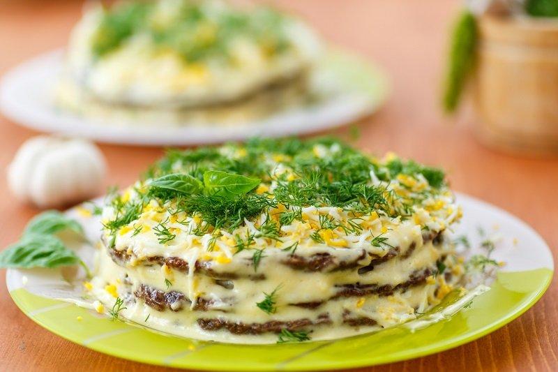 Печеночный торт - пошаговый рецепт с фото на Повар.ру