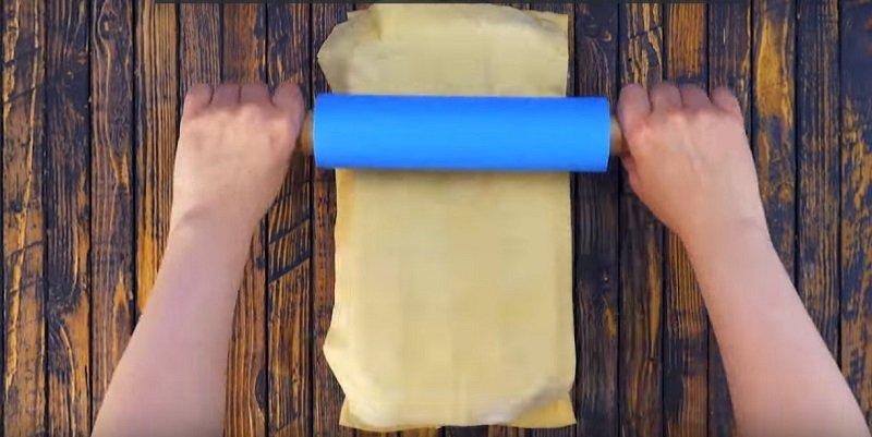 мини пицца в формочках для льда