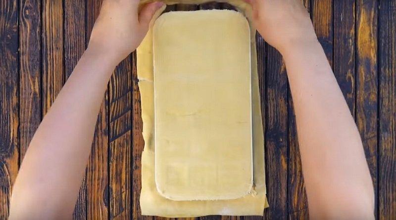 мини пицца в формочках