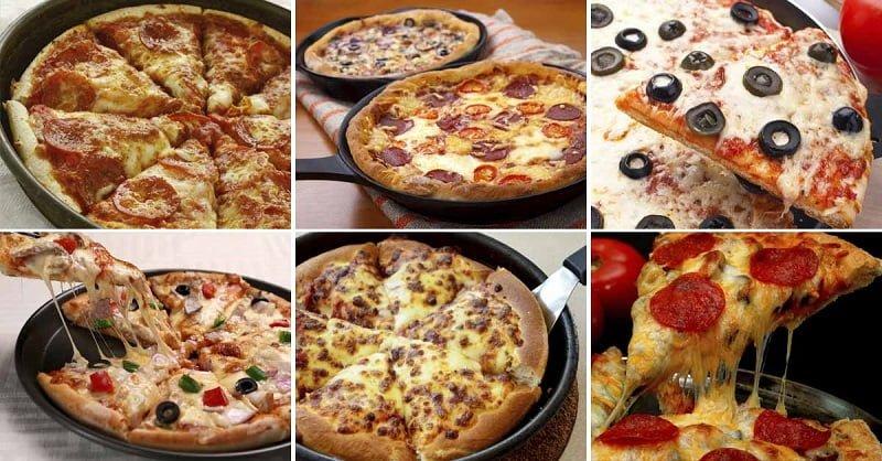 Инструкция по приготовлению пиццы на сковороде