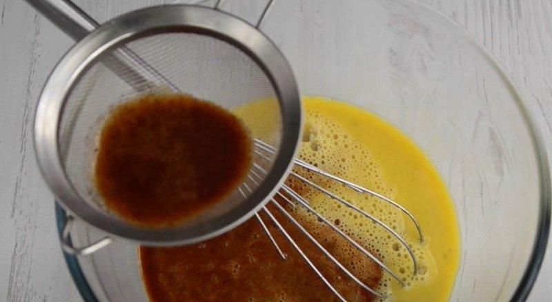 карамель в тесто
