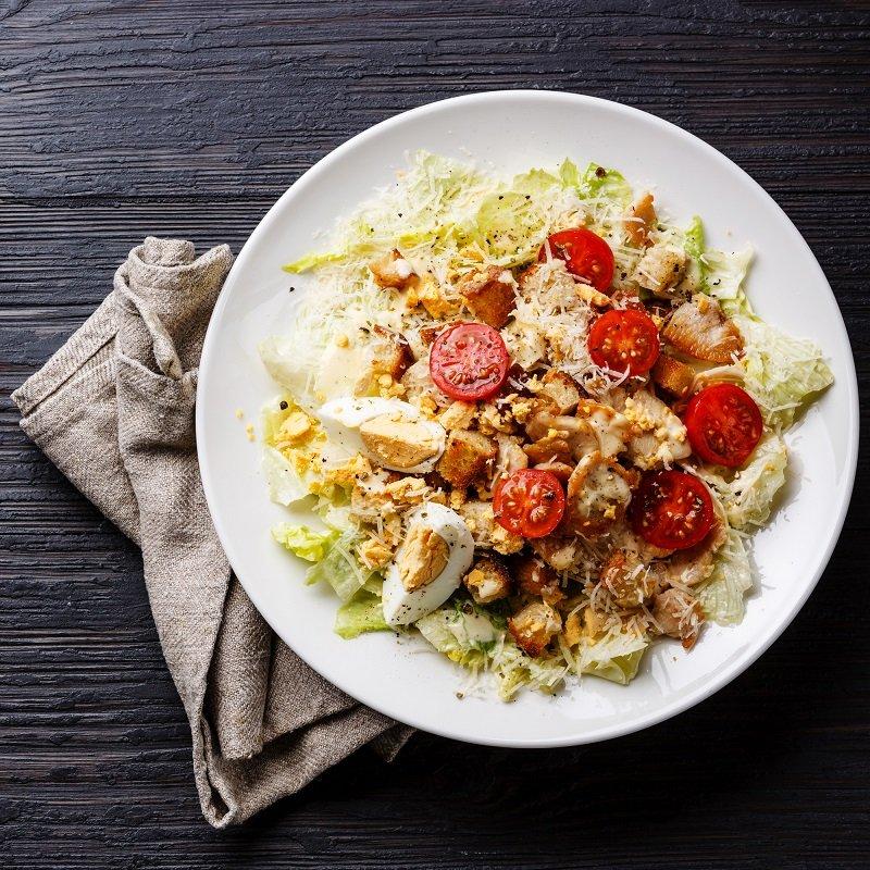 як приготувати салат цезар смачно