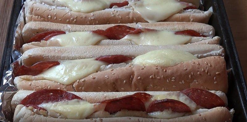сэндвичи на противне