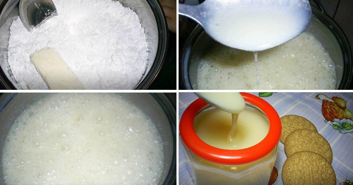 Как приготовить сгущенку в домашних условиях из молока рецепт