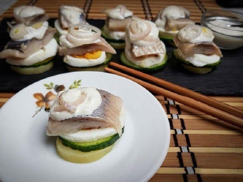 домашние суши без нори