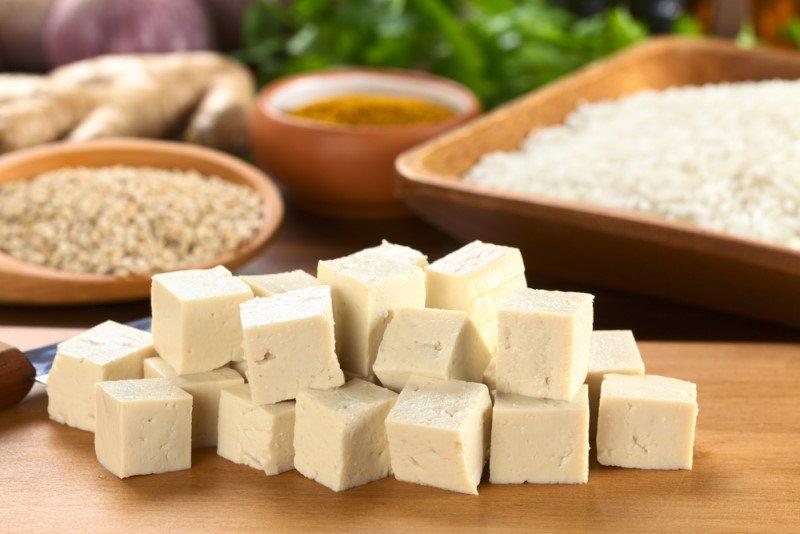 Технология приготовления соевого сыра