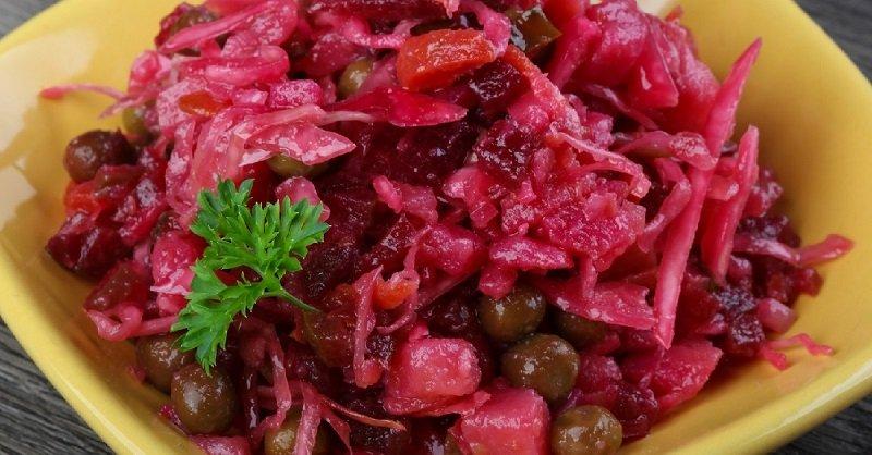 как приготовить винегрет салат