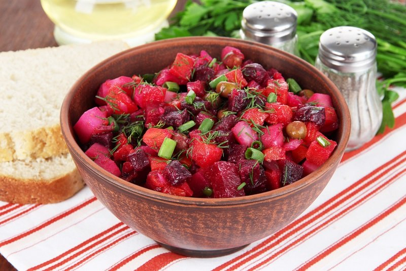 как приготовить винегрет овощной