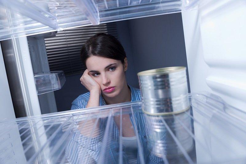 в холодильнике пусто повесилась мышь