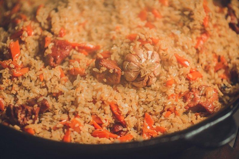 как приготовить вкусный плов из говядины