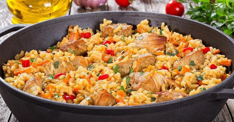 как приготовить вкусный плов из телятины