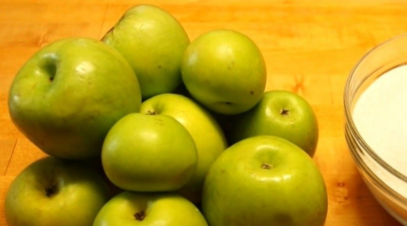 яблоки на повидло