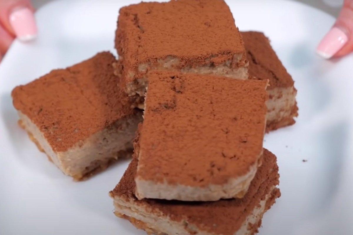 Пирожное из гречки на манер «Тирамису», от которого гости попадают в обморок