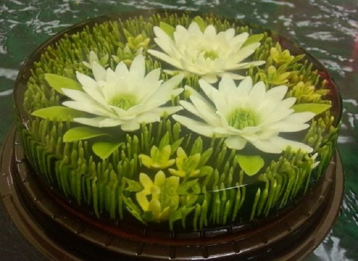 recept na koláč s želé a tvarohom