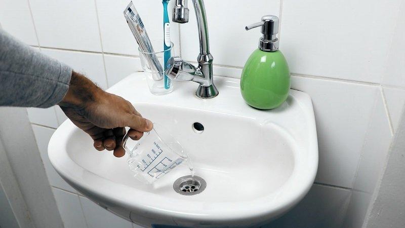 почистване на запушени импровизирани средства