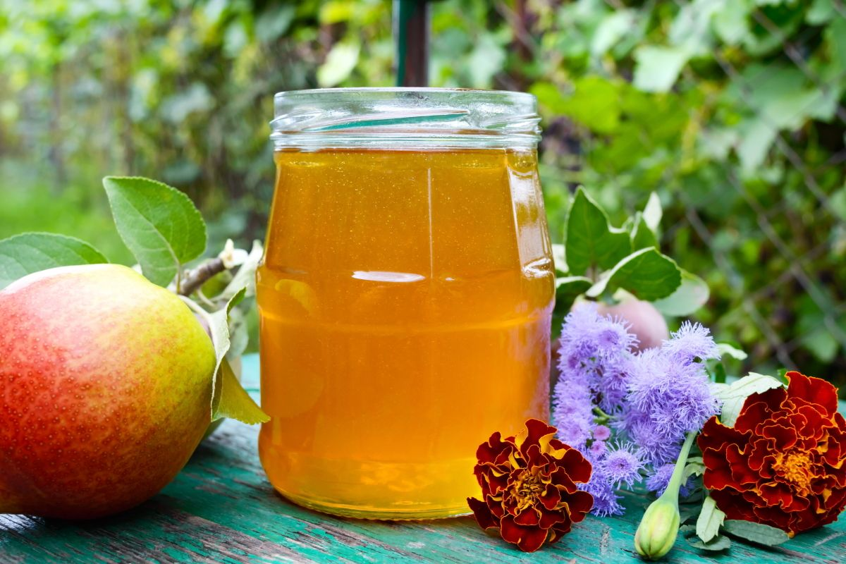 О чём свидетельствует белая пена в банке с мёдом