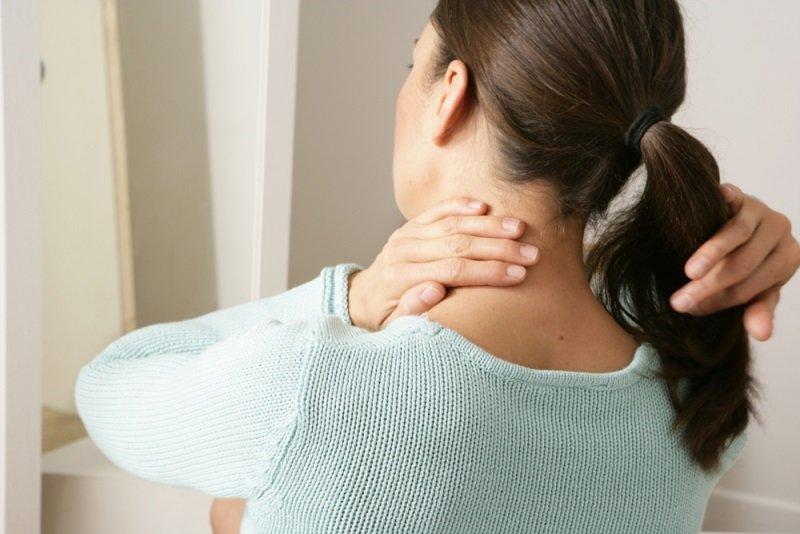 напряжение в шее и затылке