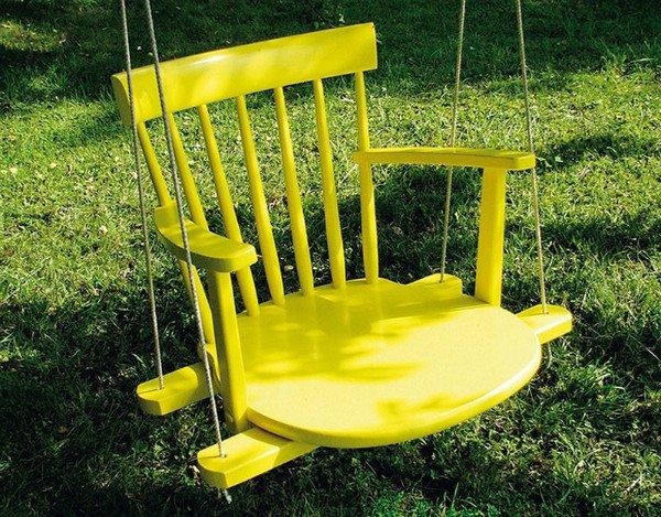 stoličky hojdačka