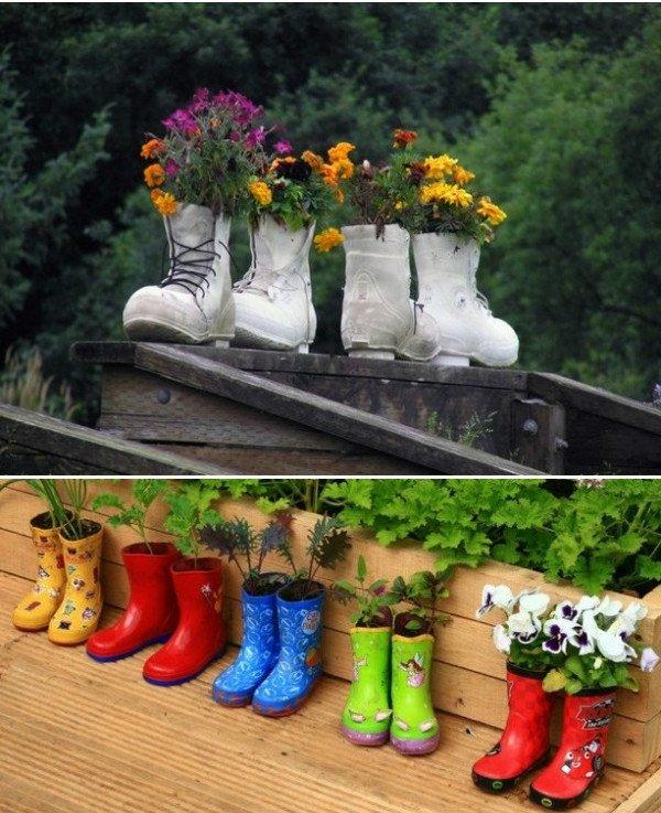 kvety v topánkach