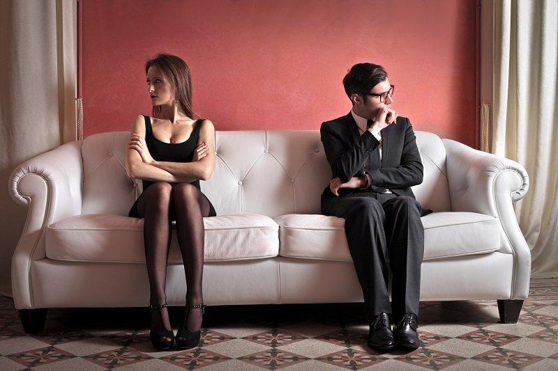 муж и жена разводятся