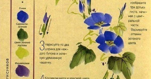 Не умеешь рисовать? Эта инструкция научит тебя создавать чудесные цветы без всяких трудностей.