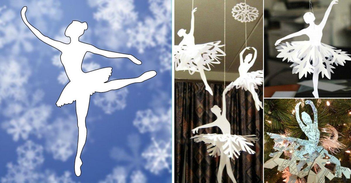 Как сделать из салфетки балерину 689