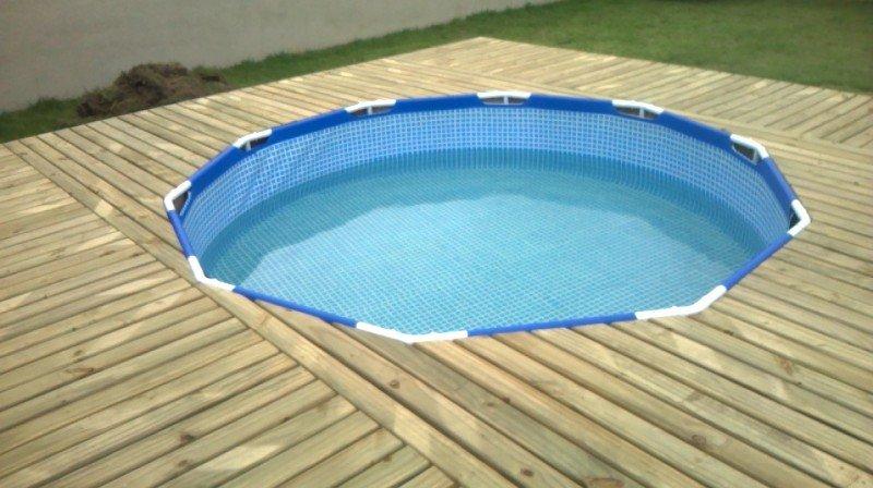 Как сделать бассейн быстро