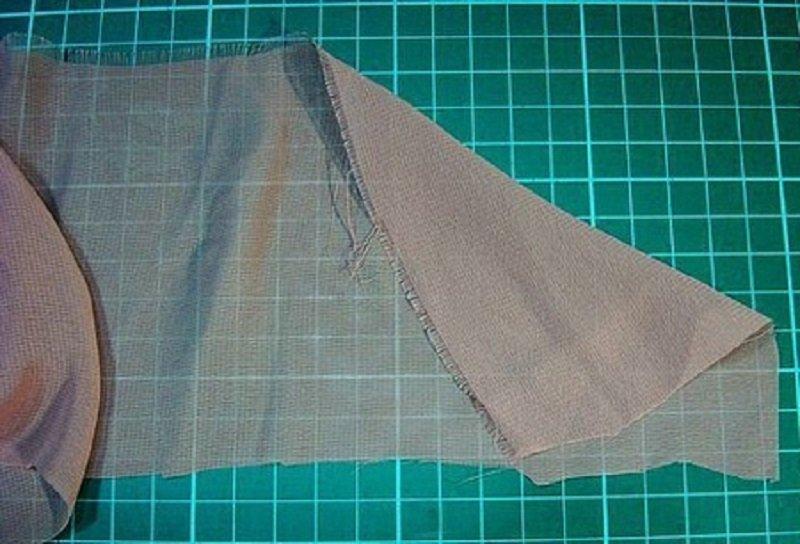 Как сделать полоски из ткани для 759